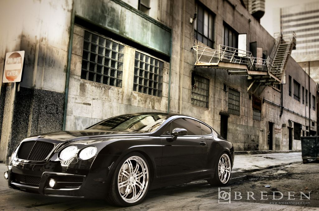 Bentley Continental Gt 22 Breden Forged Co2 Mansory Kit
